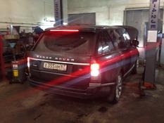 Устранение течи топлива Land Rover Range Rover